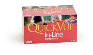 Quidel Quickvue® In-Line® Strep A Kit Kit 0343 by Quidel