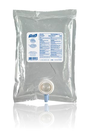 Gojo Purell Advanced Instant Hand Sanitizer Kit  2156-02-TTS 2X1000ML REFILL BAG