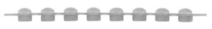 Simport Amplitube Pcr Reaction Strips Caps Case T321-1B By Simport Scientific