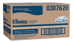 Kimberly-Clark Facial Tissue Case 03076 By Kimberly-Clark Professional
