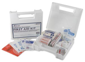 25 Person First Aid Kit, 158 pieces