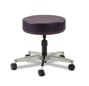 Stool, Screw Adjustable, Aluminum Base