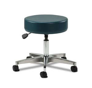 Stool, Pneumatic, Aluminum Base