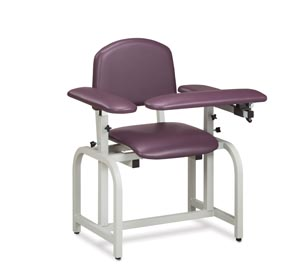 Blood Draw Chair, Flip-Arm, Upholstered