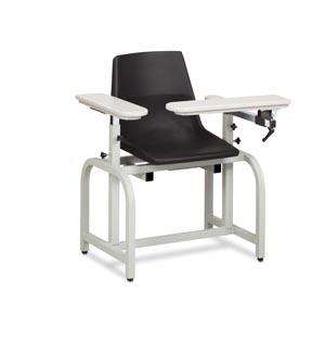 Blood Draw Chair, Flip-Arm, Plastic Seat