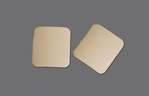 """Non-Adhesive Foam Dressing with Barrier, 2"""" x 2.125"""", 10/bx"""