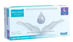 Ansell Micro-Touch� Style 42� Nextstep Powder-Free Latex Exam Gloves Case 3201 By Ansell Item No.: Mp-Ans 3201 Category: Gloves:Latex:Powder-Free Exam Item Description: Exam Gloves, Small, 100/Box