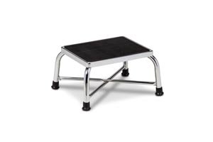 """Bariatric Foot Stool, Reinforced """"X"""" Base Construction, 600 lbs Capacity"""