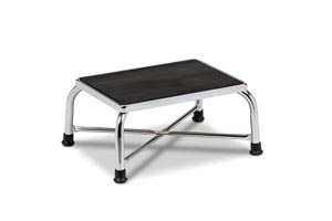 """Bariatric Step Stool Extra Wide, Reinforced """"X"""" Base Construction, 600 lbs Capacity"""