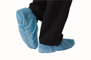 Shoe Cover, Non-Skid, Non-Conductive, X-Large, Blue, 100/bx, 3 bx/cs