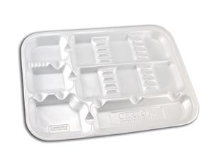 Certol Disposable Dental Instrument Trays Case Dt-00W By Certol