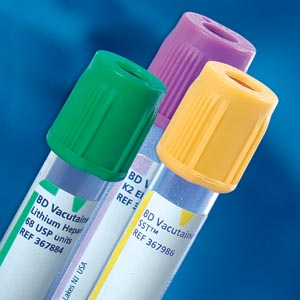 BD Vacutainer� Plus Plastic Blood Collection Tubes (Heparin) EACH BOX