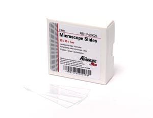 Plain Microscope Slides, 75mm x 25mm, 72/bx, 20 bx/cs