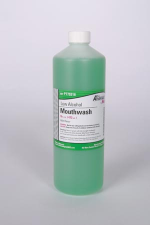 Low Alcohol Mouthwash, 16 oz, 12/cs