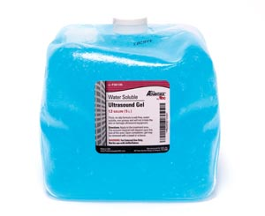 Ultrasound Gel, 5 Liter Collapsible Container with 1 Empty Bottle Per Box, 4 bx/cs