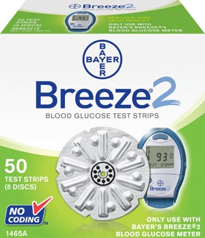 Ascensia Breeze 2 Blood Glucose Monitoring System Case 1465 By Ascensia Diabetes