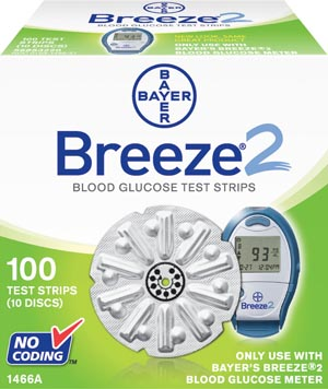 Ascensia Breeze 2 Blood Glucose Monitoring System Case 1466 By Ascensia Diabetes