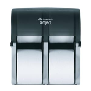 Georgia-Pacific Compact® Bathroom Tissue Dispensers Case 56744 by Georgia-Pacifi