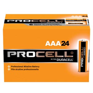 Duracell� Procell� Alkaline Battery Box Pc2400Bkd By Duracell