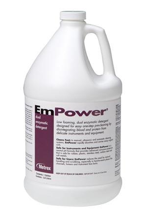 Metrex Empower Dual Enzymatic Detergent Case 10-4100 By Metrex Research