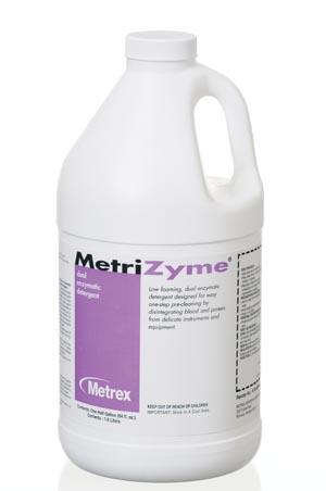 Metrex Metrizyme® Dual Enzymatic Detergent Case 10-4010 by Metrex Research