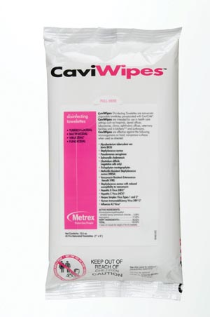 Metrex Caviwipes Disinfecting Towelettes 13-1224 By Metrex Research