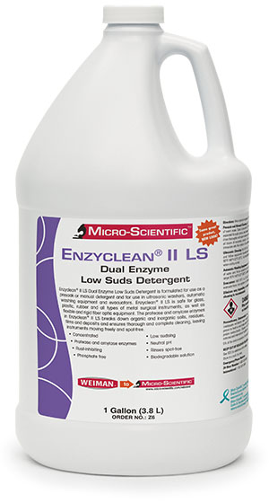 Micro-Scientific Enzyclean Ii Dual Enzymatic Detergent Case Z6 by Micro-Scientif