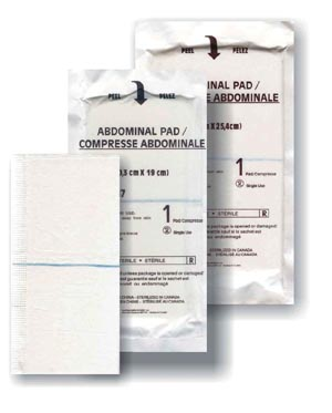 Amd Medicom Abdominal Pads Case A7059 By Amd-Medicom