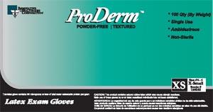 INNOVATIVE PRODERM POWDER-FREE EXAM GLOVES: preorder IHC 155300 cs                                           $57.95 Stocked
