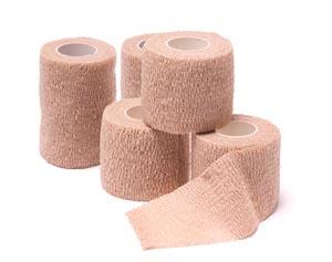 "Cohesive Bandage, Tan, 1"" x 5 yds, 30/bx"