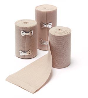 "Elastic Bandage, Woven, Standard Clip, 2"" x 4.5 yds, 10/bx, 5 bx/cs"