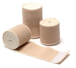 "Elastic Bandage, Knit, Self Closure, 2"" x 5 yds, 10/bx, 5 bx/cs"