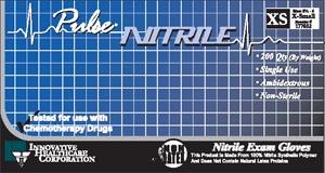 INNOVATIVE PULSE NITRILE EXAM GLOVES: preorder IHC 177302 cs                                      $93.32 Stocked