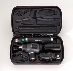 Welch Allyn 3.5V Coaxial Macroview Otoscope/Ophthalmoscope Sets Each 97200-MC by