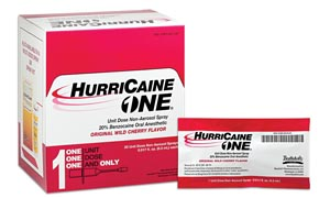 Image for HurriCaine ONE?, Unit Dose Non-Aerosol Spray, 0.5mL, 25/bx (US Only)