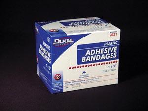 Dukal Adhesive Bandages Case 7617 By Dukal