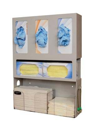 Bowman Dental Organizers Case MD-100 by Bowman Manufacturing Company
