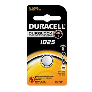 Duracell® Electronic Watch Battery Box DL1025BPK by Duracell
