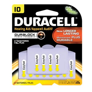 Duracell� Hearing Aid Battery Case Da10B12Rc By Duracell