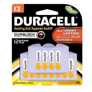 Duracell� Hearing Aid Battery Case Da13B12R By Duracell