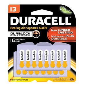 Duracell� Hearing Aid Battery Case Da13B16 By Duracell