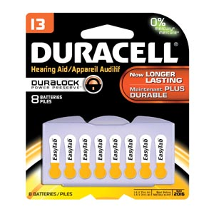 Duracell� Hearing Aid Battery Box Da13B8W By Duracell