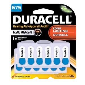 Duracell� Hearing Aid Battery Case Da675B12Rc By Duracell