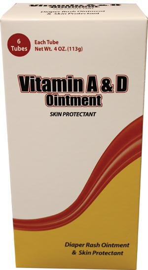 New World Imports Careall� Vitamin A&D Ointment Case Vad4 By New World Imports