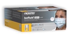 Crosstex Securefit Isofluid Face Mask Ctn Gcipwbsf By Crosstex International Item No.: Mp-Cro Gcipwbsf Category: Protective Apparel :Apparel:Masks Item Description: Earloop Mask With Splash Shield, Fo