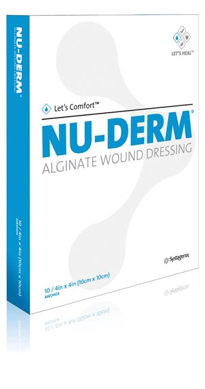 Acelity Nu-Derm Alginate Wound Dressing Case Awd404 By Kci USA