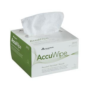 Georgia-Pacific Accuwipe® Recycled Delicate Task Wipers Case 29712 by Georgia-Pa