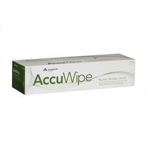 Georgia-Pacific Accuwipe® Recycled Delicate Task Wipers Case 29756/03 by Georgia