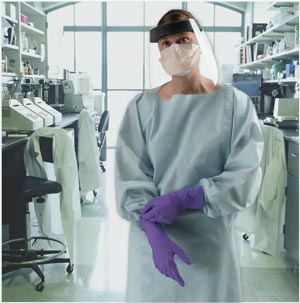 HALYARD PROCEDURE GOWN CHEMOTHERAPY DRUG TESTED: preorder KIM 69606 cs