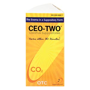 Beutlich Ceo-Two® Laxative Suppositories Box 0283-0808-11 by Beutlich LP Pharmac